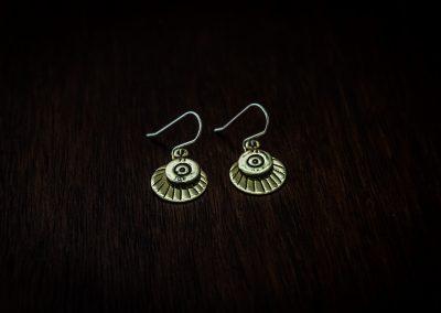 AEB2 - bullet earrings