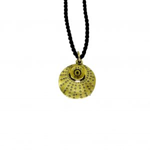 Recycled bullet pendant
